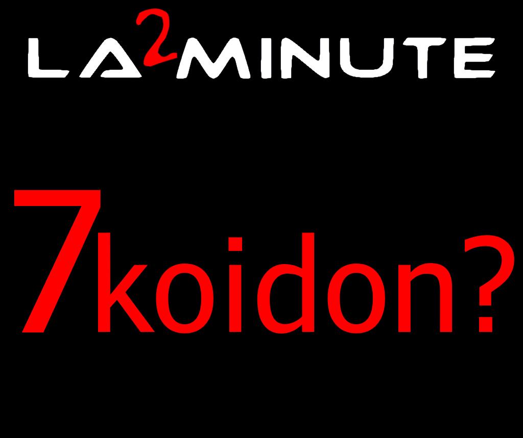 "La ""2"" minute 7koidon ?  N°001 - 7koidon un toro de fuego ?"