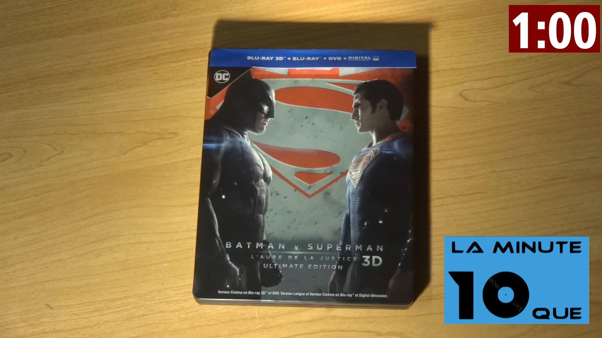 La Minute 10que N°21 - Batman vs Superman, l'aube de la justice (sans spoiler)