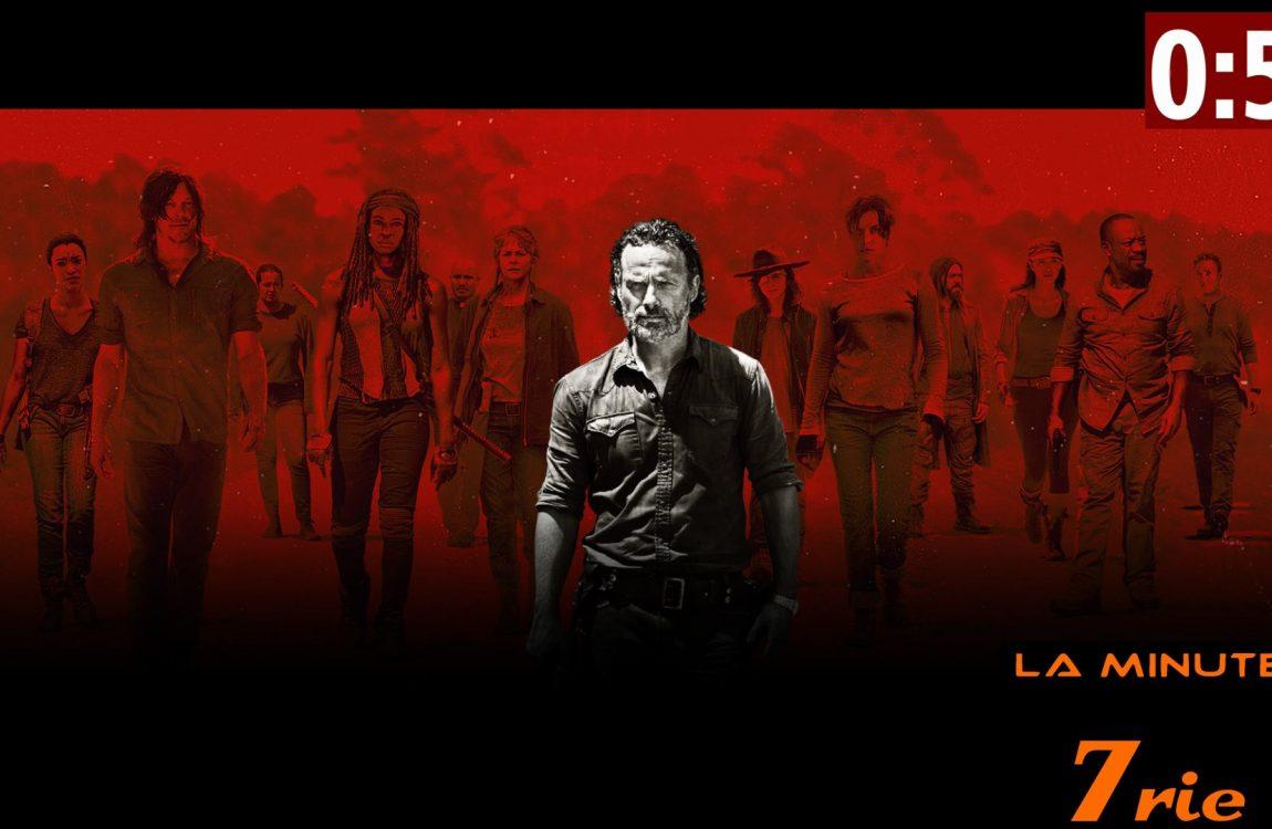 La Minute 7rie N°010 – The Walking Dead saison 7, ép. 9 (2017 – AMC) sans spoiler
