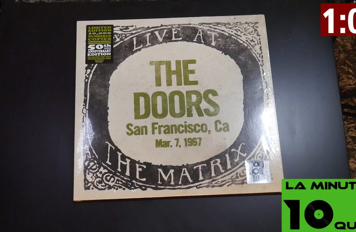 La minute 10que N°30 – the Doors live at the palladium (vinyle edition collector disquaire day)