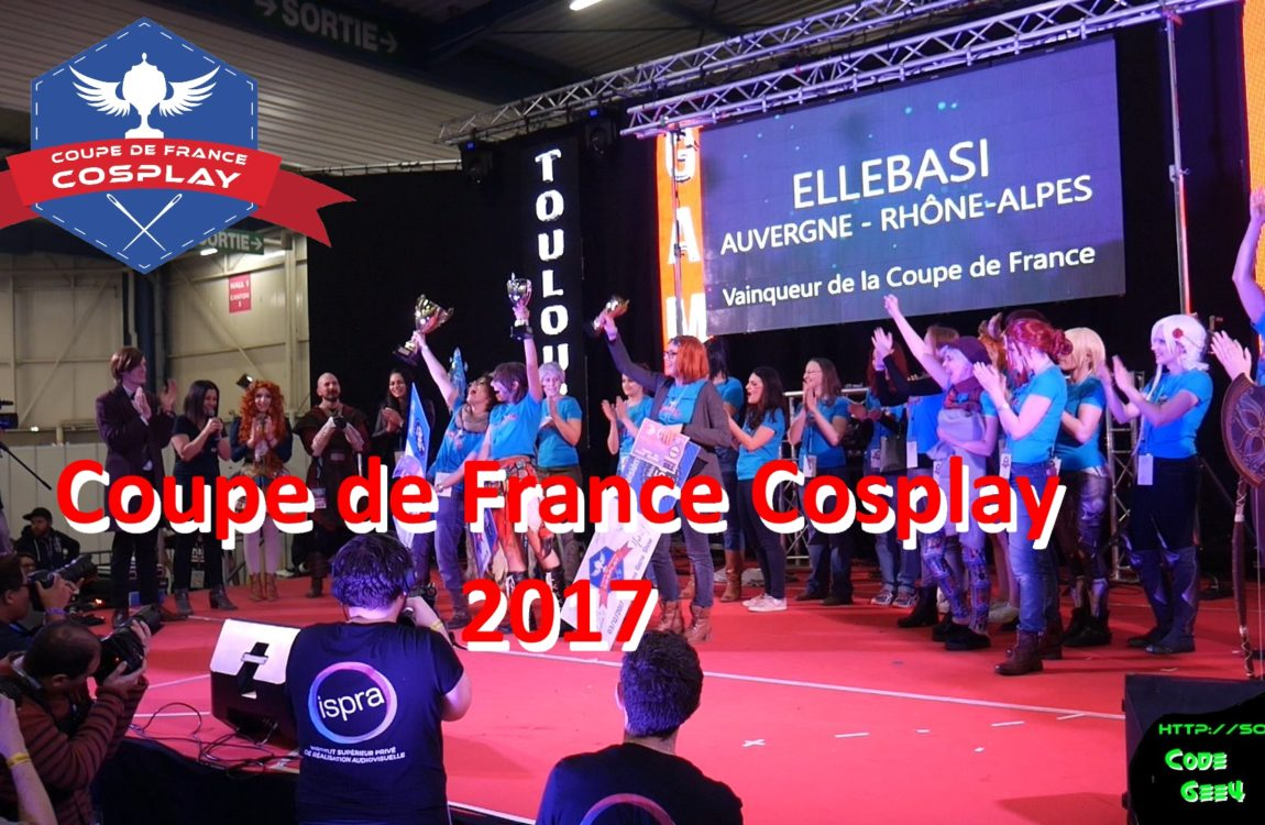Coupe de France Cosplay 2017