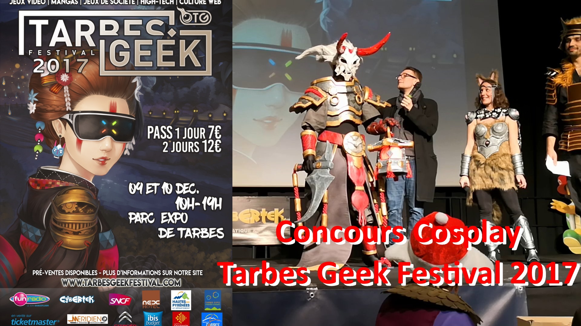 Concours Cosplay - Tarbes Geek Festival 2017