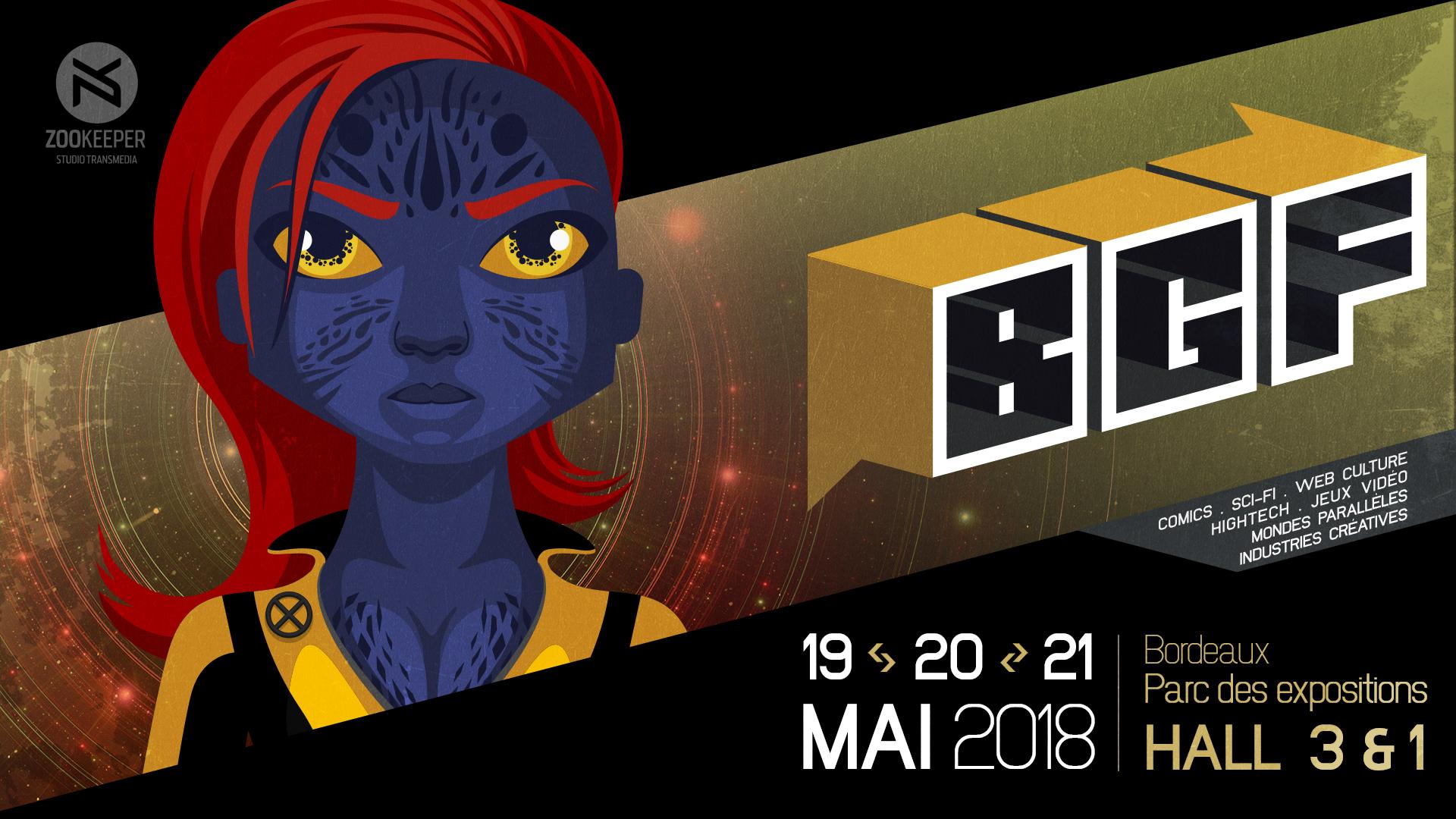 Code 6ee4 – 3 jours au Bordeaux Geek Festival