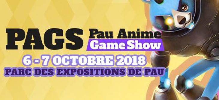 PauAnime Game Show 2018 - le plaisir dans la continuité